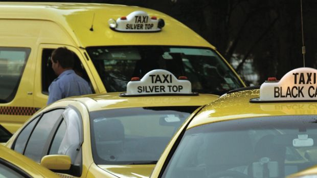 Taxi licence values peaked at about $550,000 in Victoria more than four years ago.