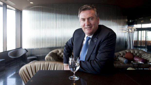 Eddie McGuire wants to knock down the 15-year-old Etihad Stadium.