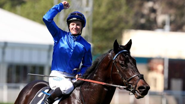 Explosive: Exosphere's win in the Roman Consul Stakes has helped boost its claims for group 1 status.