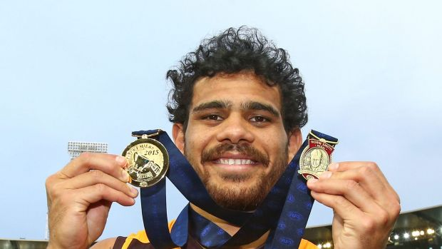 Electrifying: Cyril Rioli, a Tiwi Islander, was winner of this year's Norm Smith Medal as the best player of the AFL ...