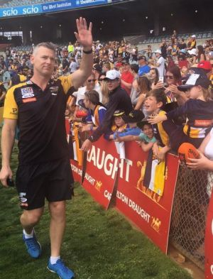 Adam Simpson thanked the Eagles faithful when he returned to Perth on Sunday - but says the anger from the grand final ...