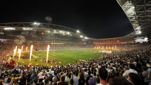 ANZ Stadium in all its glory during this year's NRL Grand Final.