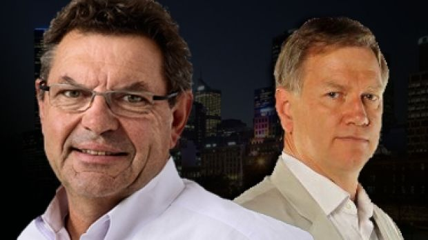 Conservative broadcaster Steve Price and firebrand Andrew Bolt.