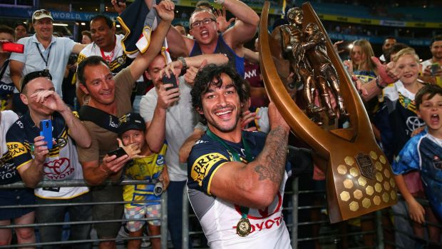 Sticking with a winning formula: The Cowboys side to play in the World Club Challenge will be familiar to fans.