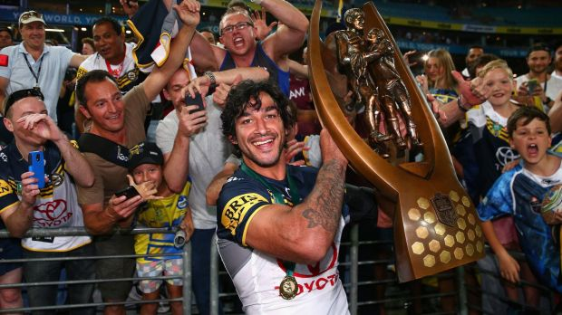 That winning feeling: Can Johnathan Thurston's Cowboys carry off the NRL trophy again?