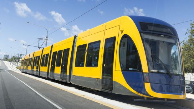 Construction of the 7.3km second stage of the Gold Coast light rail project will begin in April 2016.