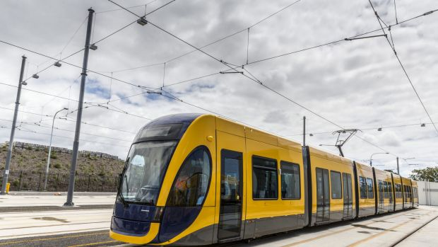 """Palisade has a 16.7 per cent equity interest """"both stages"""" of the Gold Coast's light-rail project."""