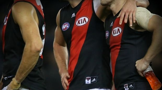 The 34 former and current Essendon players