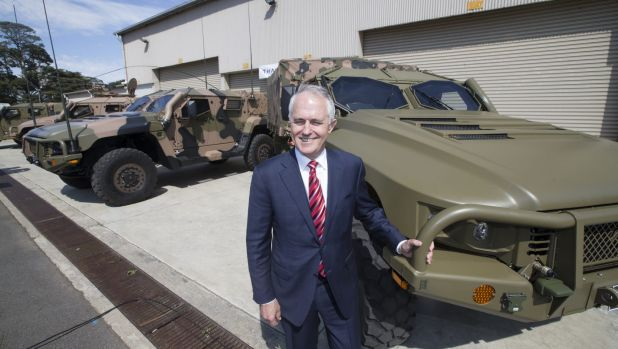 Malcolm Turnbull should take the chance to consider Australia's military ambitions.