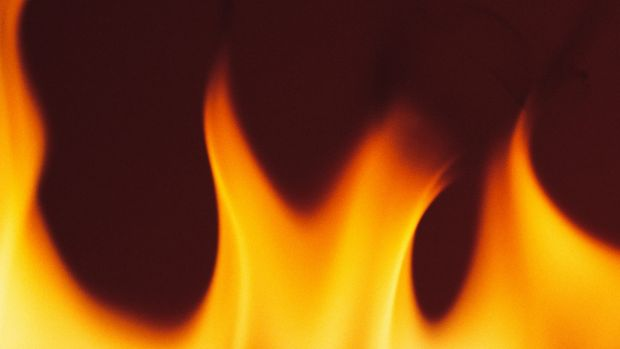 A man has been injured in a unit fire in St Lucia