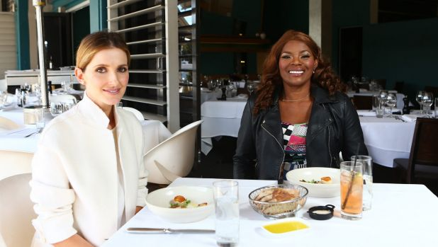 Kate Waterhouse with Marcia Hines, who said she had given her daughter no advice on entering show business because ...