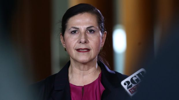 Liberal Senator and junior minister Concetta Fierravanti-Wells.