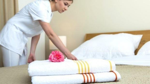 Expedia and Priceline charge hotels 15 per cent for each booking made on their websites.