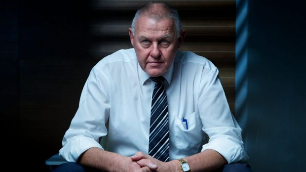 Former top cop Ron Iddles.