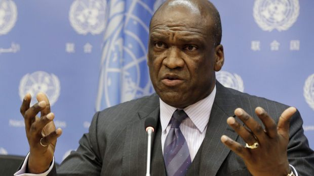 John Ashe, the former ambassador to the UN for Antigua and Barbuda, is accused of taking $US1.3 million in bribes.