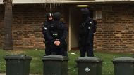 Pictured is the house at Lane Street, Wentworthville. Five people have been arrested in relation to the fatal shooting ...