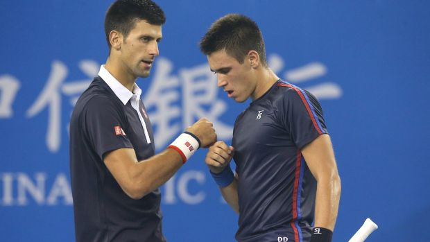 The Djokovic brothers got a first-up win.