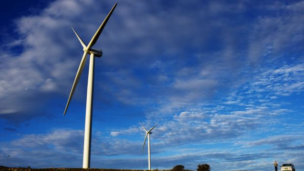 Blue sky view: NSW has a long way to go to hit 20 per cent renewable energy by 2020.