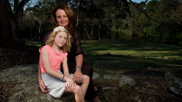 """Alisa Kefford Parker with her daughter, Darcy, in Sydney. """"This accident was not my fault and it is not right that I am ..."""