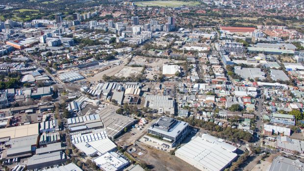 Packed to the rafters: Green Square will house 22,000 people per square kilometre by 2030.