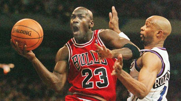 Under fire: NBA legend Michael Jordan has been criticised for the price of his sneakers.