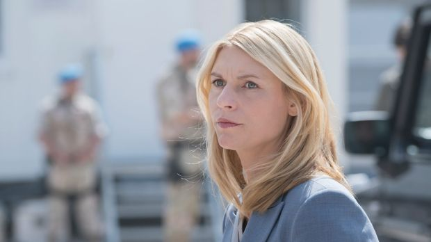 Clare Danes in Homeland, which Prime Minister Malcolm Turnbull will be watching.