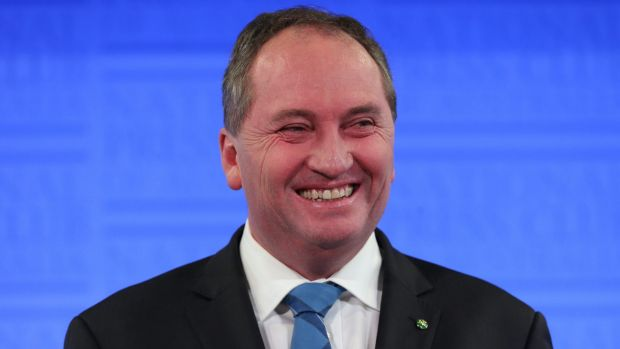 Barnaby Joyce is set to become Australia's deputy prime minister.