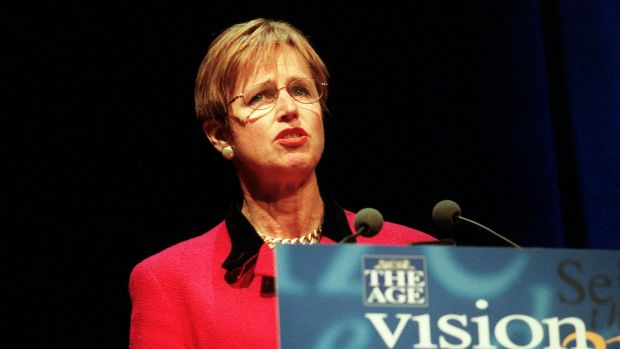 Wendy Craik, the new chair of the Climate Change Authority, when she was head of the National Farmers Federation in 2000.