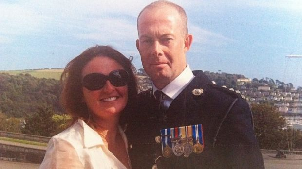 Alisa Kefford Parker and partner Alasdair Baker, a former officer in the Royal Marines, who was working in security in ...