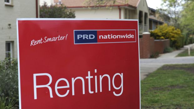 Canberra has recorded the largest jump in median rent among Australia's capital cities.