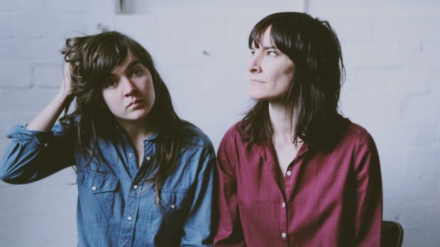 Courtney Barnett (left) and Jen Cloher say performers need to be challenged..