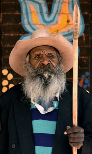 Graham Kulyuru is one of the artists whose work will be displayed in the Tarnanthi Festival of Contemporary Aboriginal ...