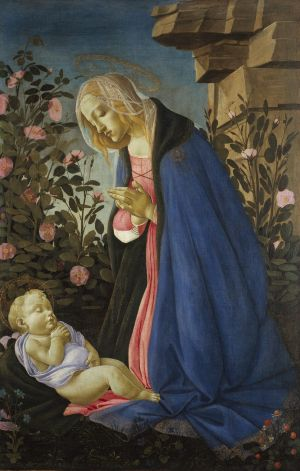 <i>The Virgin Adoring the Sleeping Christ Child</i> (c1485) has only recently been recognised as a work by Renaissance ...