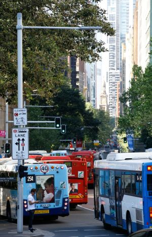 The intersection of York and Margaret streets tops the list of intersections for motorists to avoid in Sydney's CBD.