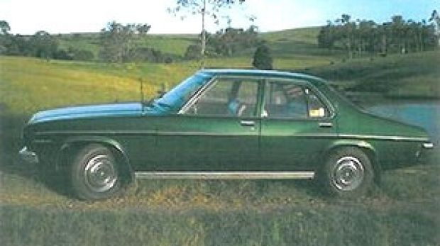 A car similar to the one Michelle Buckingham was believed to have been picked up in.