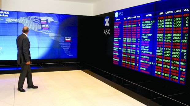 While the Dow moves form record to record, the ASX remains stuck below 5800 points.