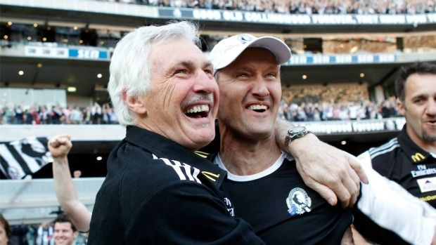 Mick Malthouse and David Buttifant.