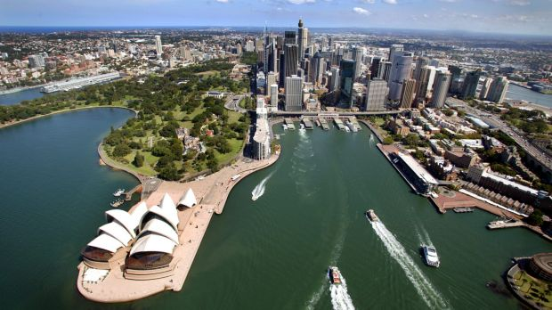 Are we best represented by the Opera House and natural beauty of Circular Quay, or the Cahill Expressway, dumped ...
