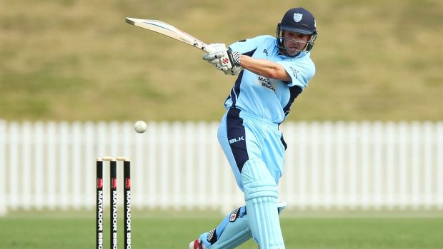 Leading from the front: Ed Cowan was in top form for the Blues against Western Australia.