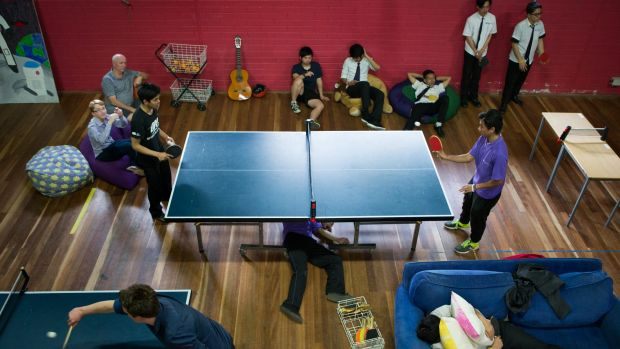 Ping-Pong-a-thon aims to raise awareness of Domestic Violence.