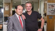 SYDNEY, AUSTRALIA - OCTOBER 25:  Roselands 50th anniversary - Vince Colletti's barber's shop was there from the start. ...