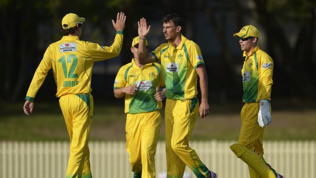 The CA XI broke through for their first win on Saturday.
