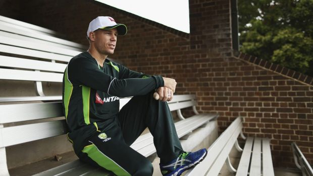 David Warner is in a race to be fit for the New Zealand series.