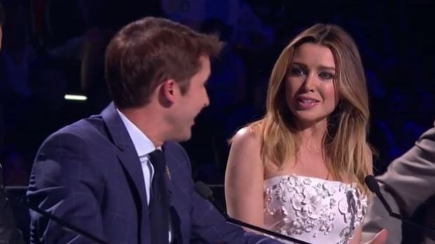 X Factor judge James Blunt accused Dannii Minogue of being disingenuous and biting his head off whenever he criticised her.