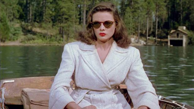 Eerily tranquil: Gene Tierney in <i>Leave Her to Heaven</i>.