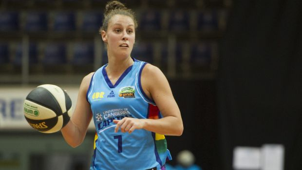 Stephanie Talbot was again the star for the Capitals, but her performance wasn't enough to get the win.