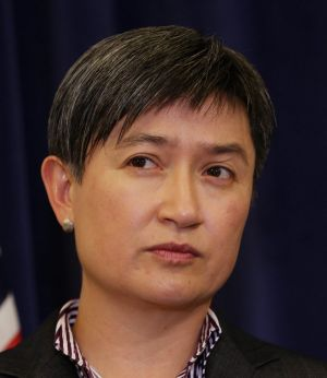 Acting Opposition Leader Penny Wong.