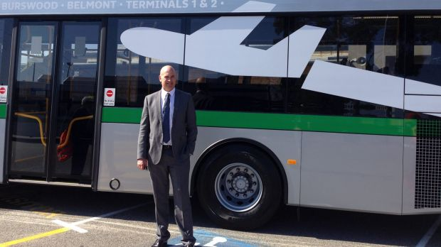 Direct bus route from city to perth airport to start in for Bus timetable perth 85