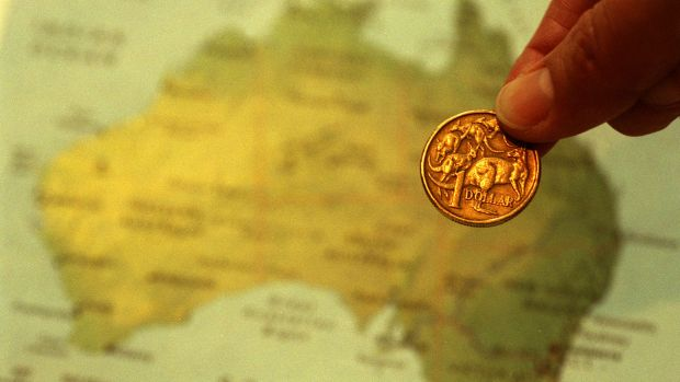 The Australian dollar dropped sharply, extending its losses for a fourth straight day.
