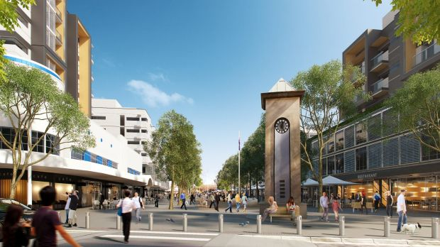 Campsie in the near future, according to NSW Planning.
